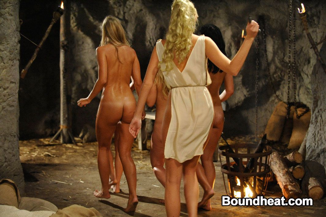 nude teen slaves whipped punished by lesbian mistress