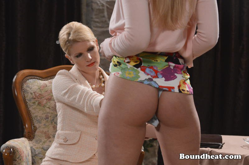 cool sexy blonde lesbian reaches into panties of lizzie moreover
