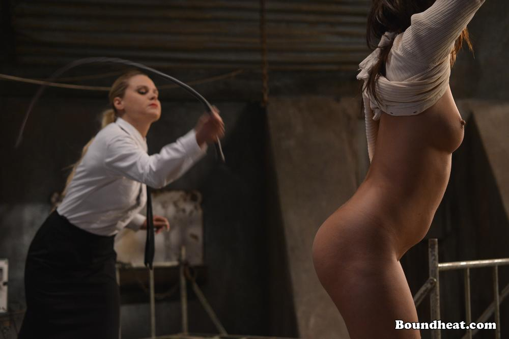 image No escape 2 young slave and maid having their bdsm session
