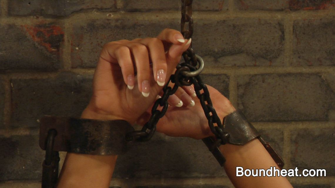 lesbian slave chained and handcuffed