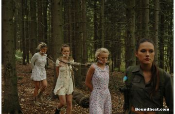 the slave huntress lesbian slaves and mistress movies