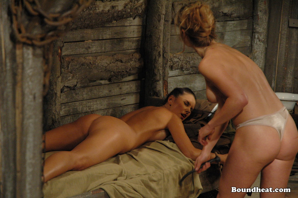 Domination movie with 2 young 18yo dominatrixes 1