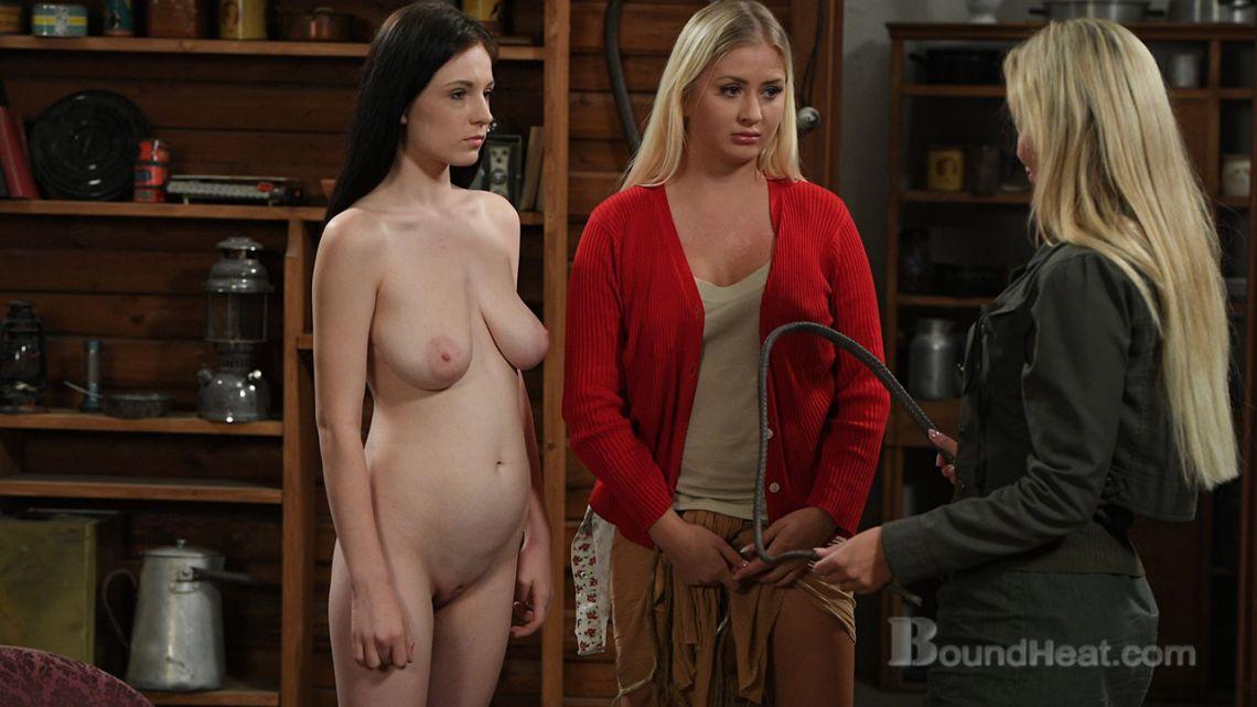 The Story Of Marina - Lesbian Slaves And Mistress Movies - Boundheatcom-4023